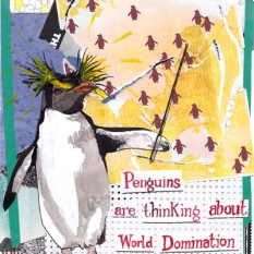 jenny robins - what birds are really thinking - 2013 - penguins