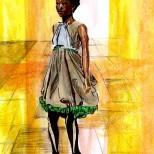 Bora Aksu - lfw aw 2011 - jenny robins