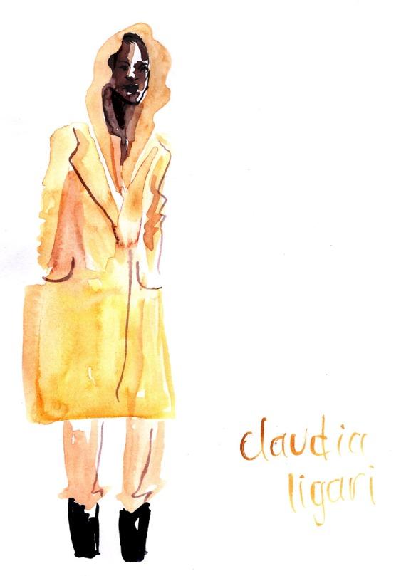 claudia ligari camel - lfw - aw13 - jenny robins - amelias magazine