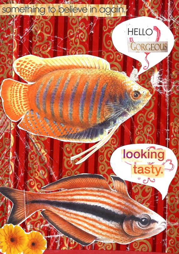 jenny robins - alternative valentine - tasty fish