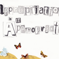 Jenny Robins - appropriation is it appropriate