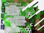 jenny robins - found text collage design - the new tabloids - patterns