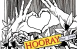 jenny robins - found text comic - hooray for love