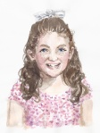 jenny robins - portrait - gracie watercolour
