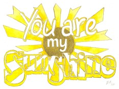 Jenny Robins - you are my sunshine my only sunshine