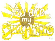 Jenny Robins - you are my sunshine my only sunshine