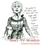 real tv wisdom - jenny robins - baftas - helen mirren