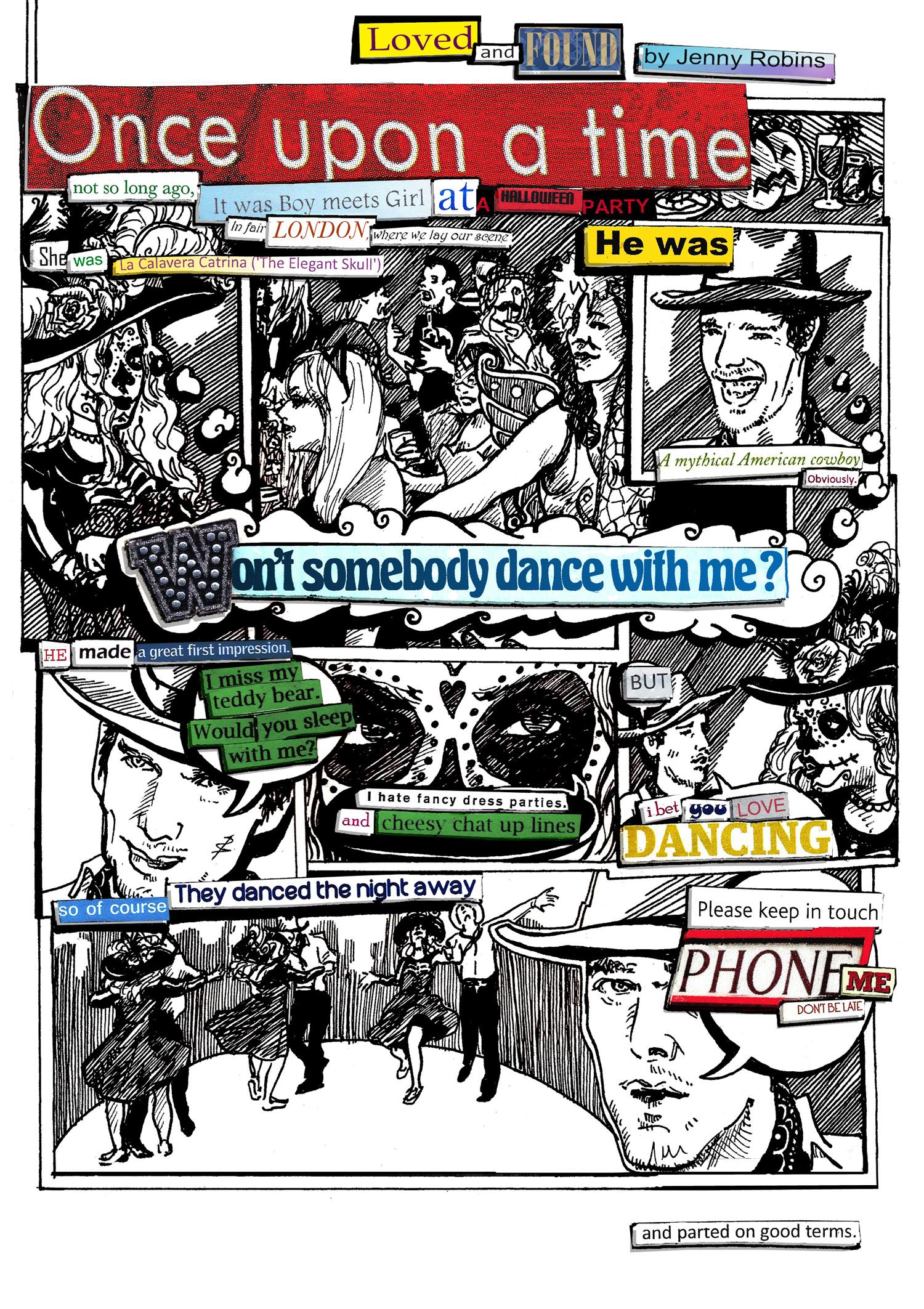 jenny robins - found text comic - page 1 final